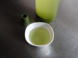ハリオフィルターインボトル水出し緑茶3