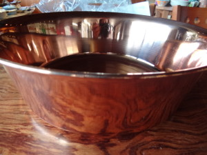 銅洗い桶32cm横 (2)