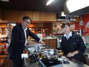 クラタ食品HP動画取り②