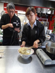 クラタ食品HP動画撮り④
